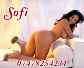 Meet the beautiful Sofi in Edinburgh  with just one phone call